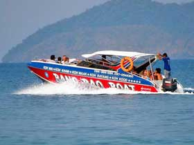 Bang Bao Boat Speedboat for fast transfers between Koh Chang, Koh Kood, Koh Mak and Koh Wai