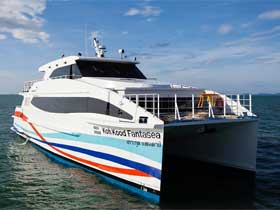 Boonsiri Catamaran for transfers between Koh Chang, Koh Kood, Koh Mak, Trat, Laem Sok