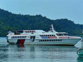 Koh Kood Princess Fast-Ferry for transfers from Koh Kood to Trat