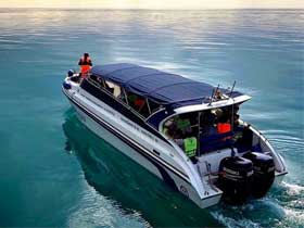 Seatales Speedboat for transfers between Koh Mak and Laem Ngop